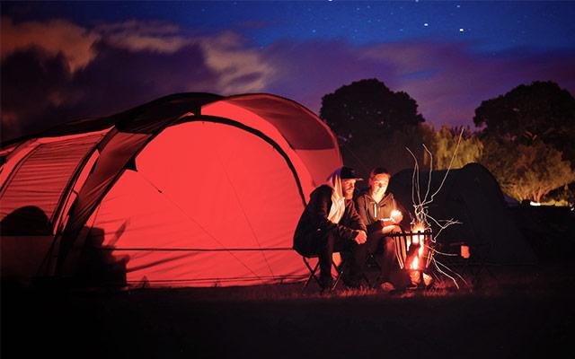 Noć u šatoru